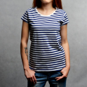 Marynarska- koszulka damska