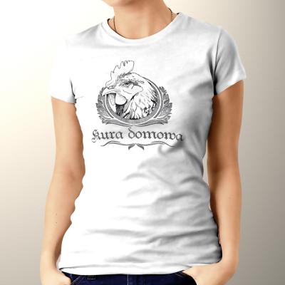 Kura domowa - koszulka damska