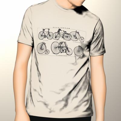 Ruskie rowery - koszulka męska